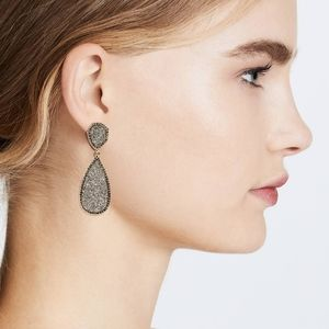 Baublebar Nordstrom moonlight druzy drop earrings